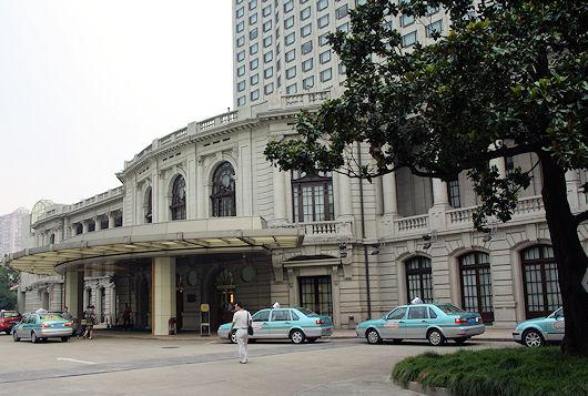 上海、花園飯店のレストラン、白玉蘭|アジアグルメ図鑑