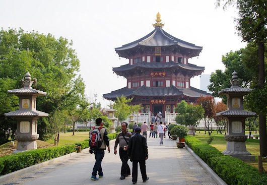 寒山寺と楓橋夜泊|蘇州古典園林...